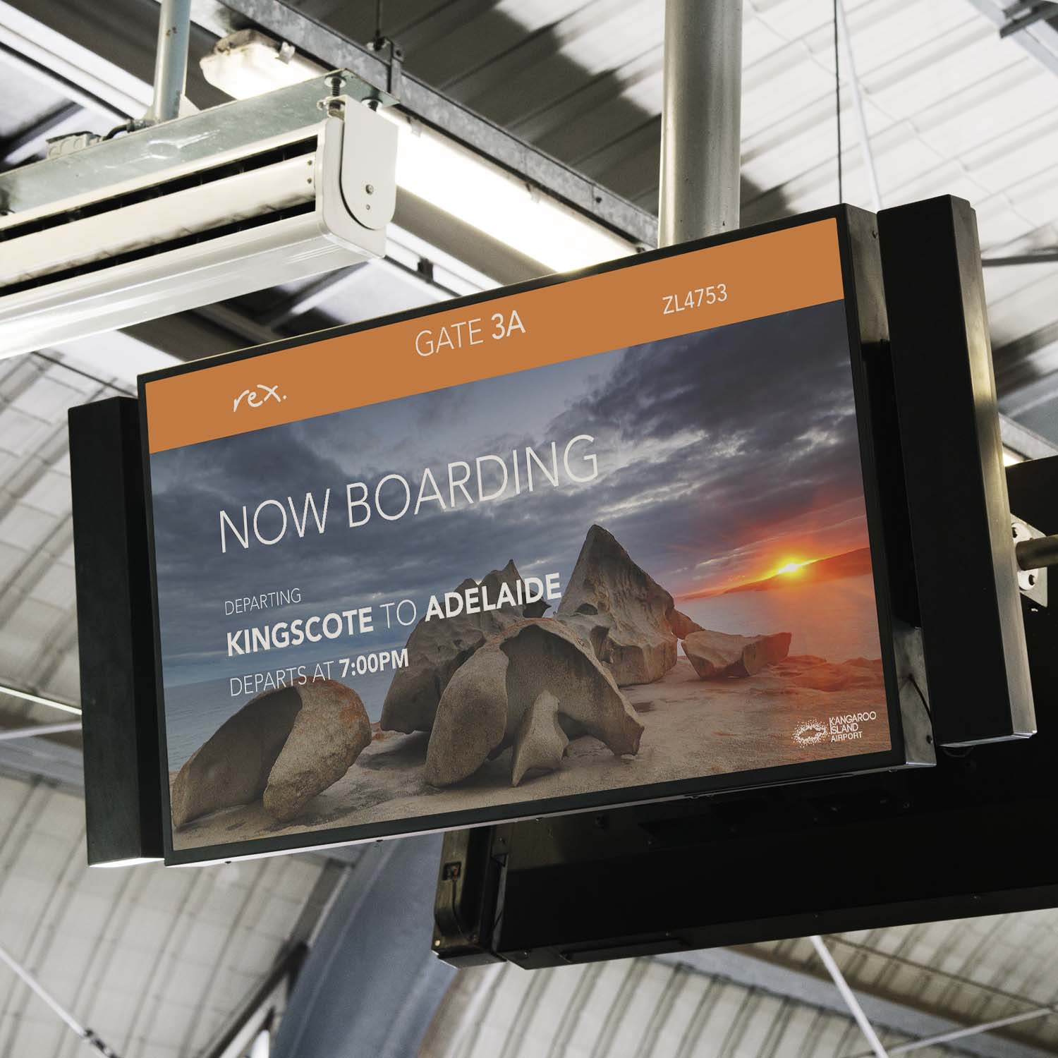 Flight Information Displays (FIDS)